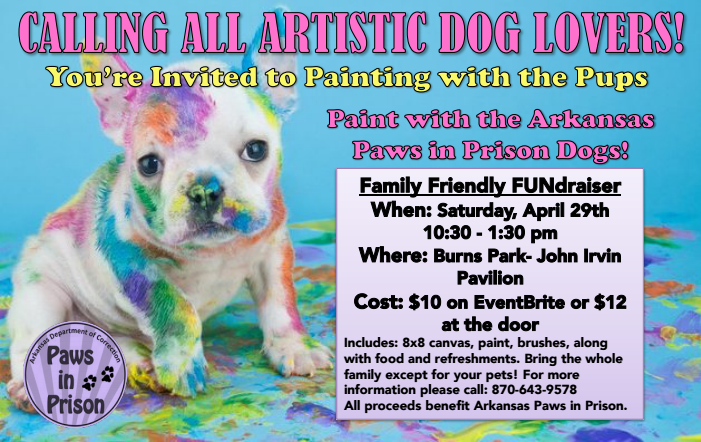Paws in Prison Fundraiser