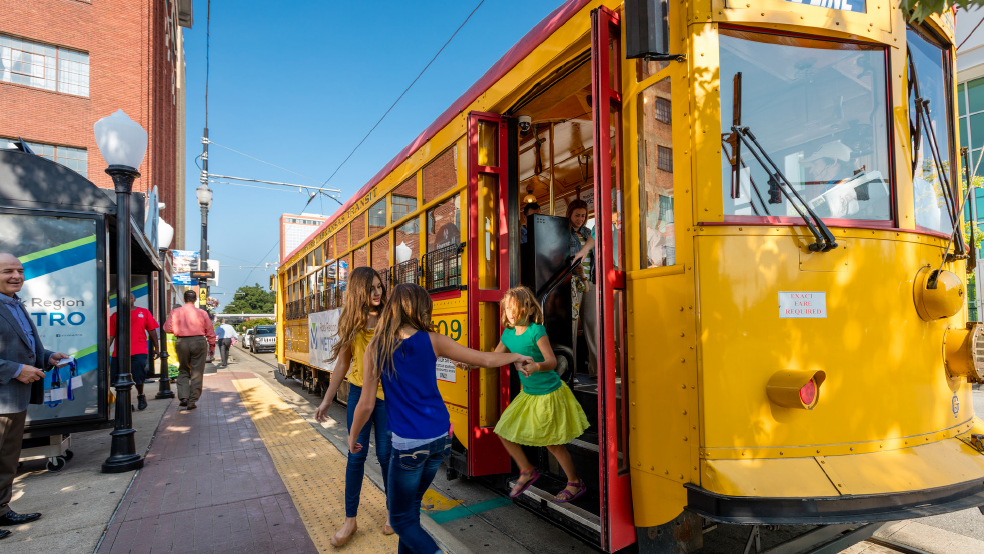Ride the trolley this summer!