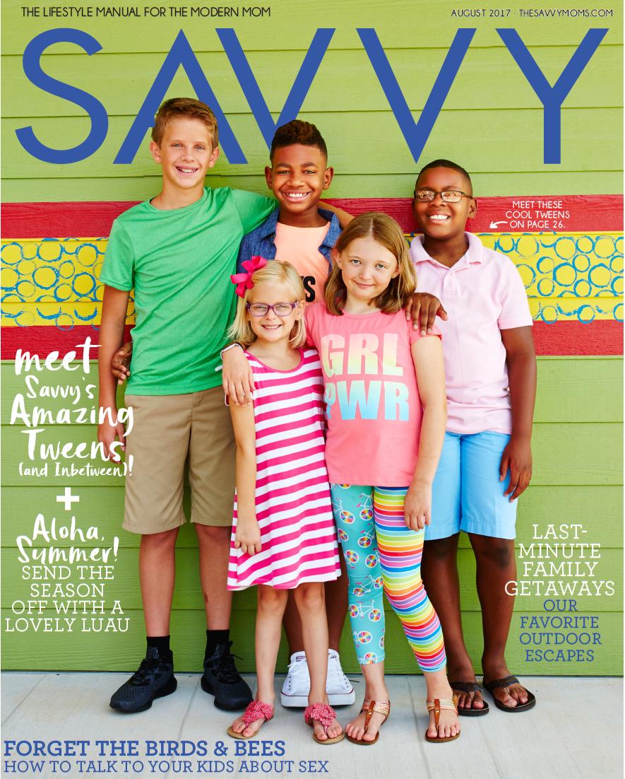 SAVVY | August 2017