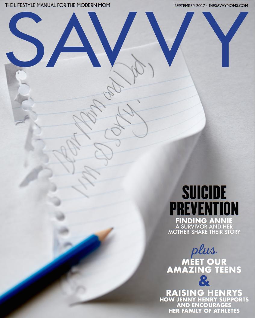 SAVVY | September 2017