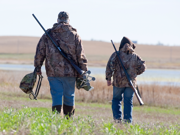 Hunting safety for kids
