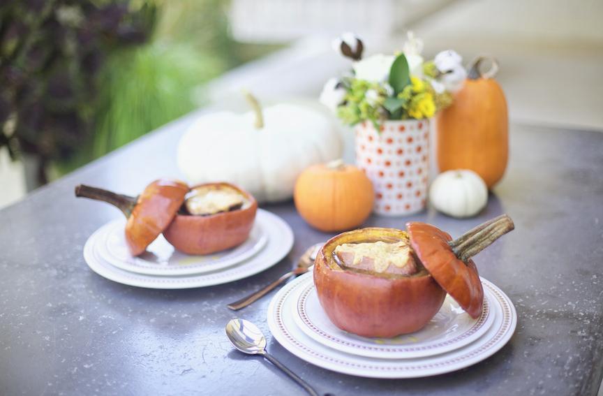 French onion pumpkin soup recipe