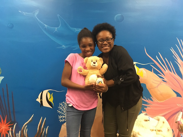 ARIANA WHATLEY AND SHANTERIA DAVISON A BBBS OUTING.
