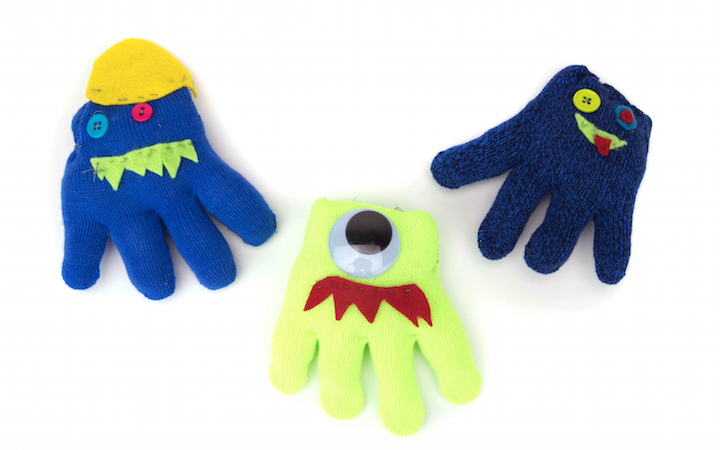Winter Glove Monsters