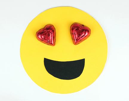 Emoji DIY Valentine