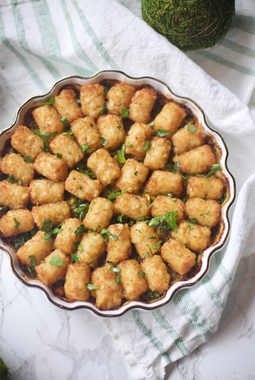 Shepherd's Tater Tot Pie recipe