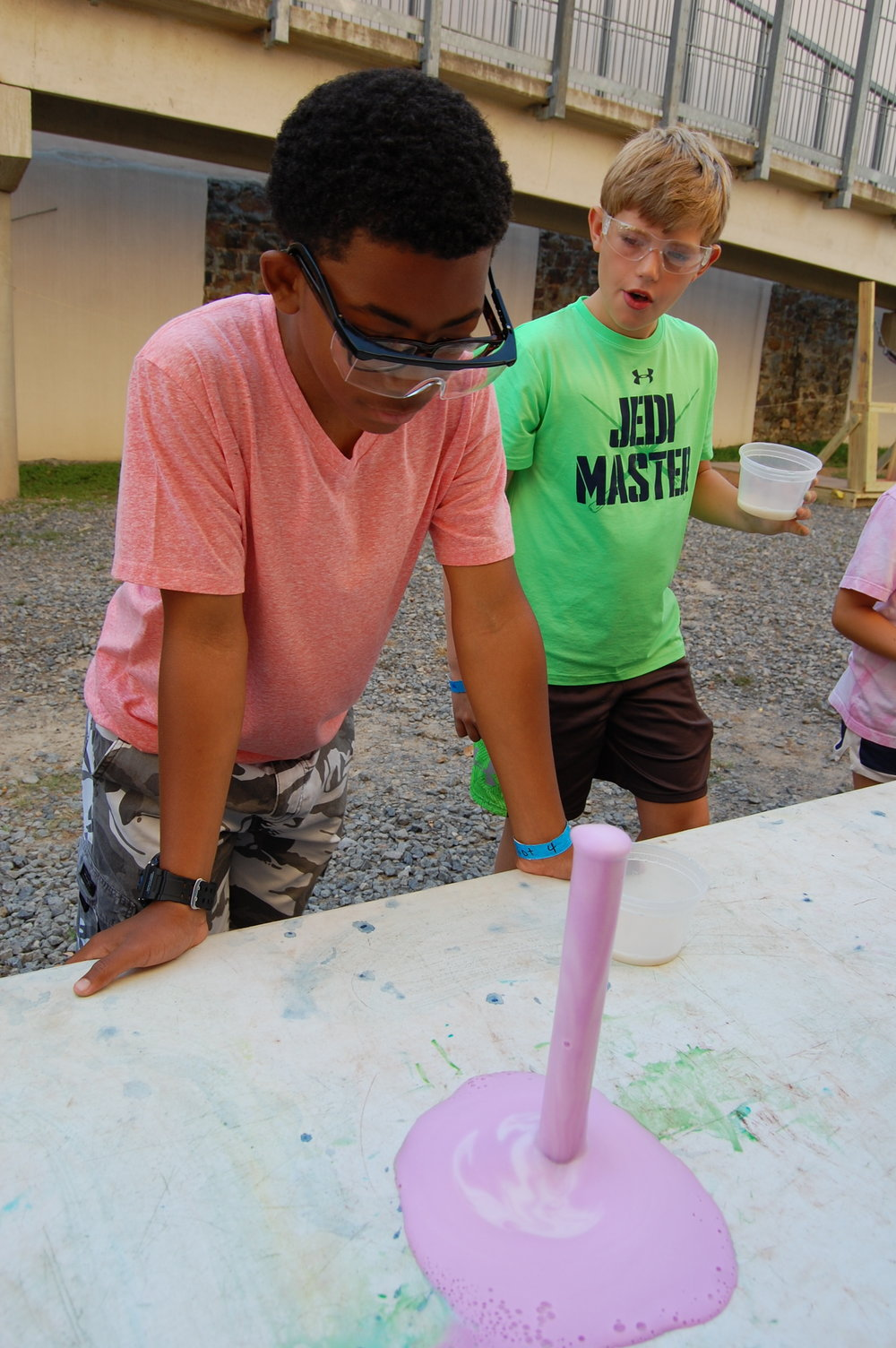 Kids love to tinker, learn, discover and get messy at Museum of Discovery's special summer programming.