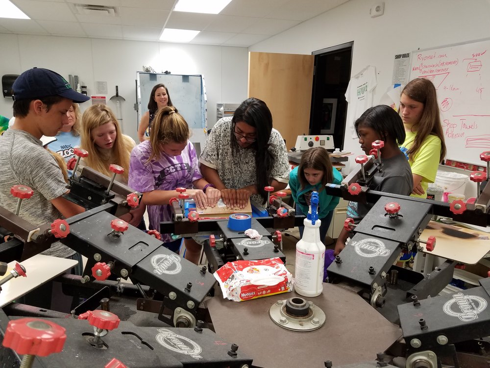 Roll up your sleeves and dive into hands-on learning at the Arkansas Regional Innovation Hub. Explore clay building, screen printing, 3D printing, robotics and more at The Hub!