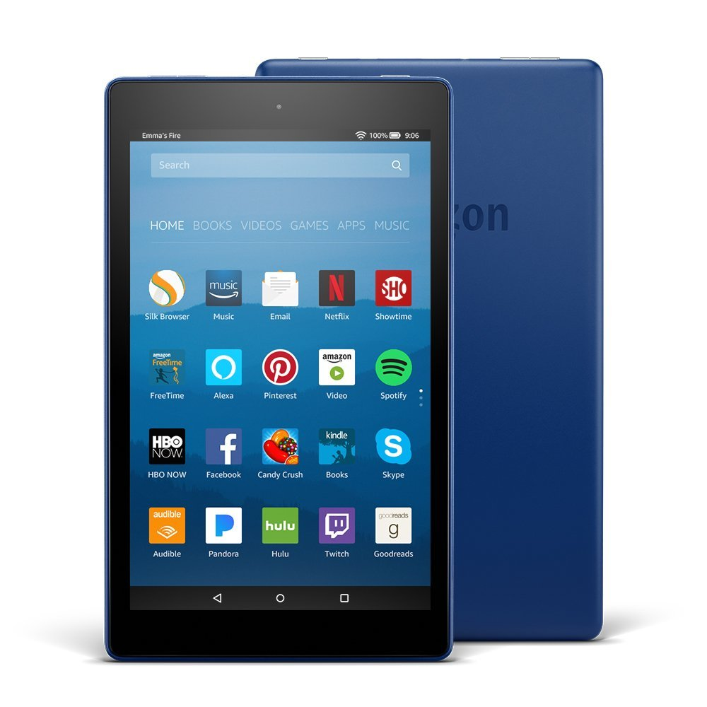 "Amazon sells Kindle Fire HD 8 for $60 and if you are a Prime member you can download videos on to it for hours. A favorite for our youngest would be Team Umizoomi, but we also include movies both kids can watch, like ""Star Wars."""