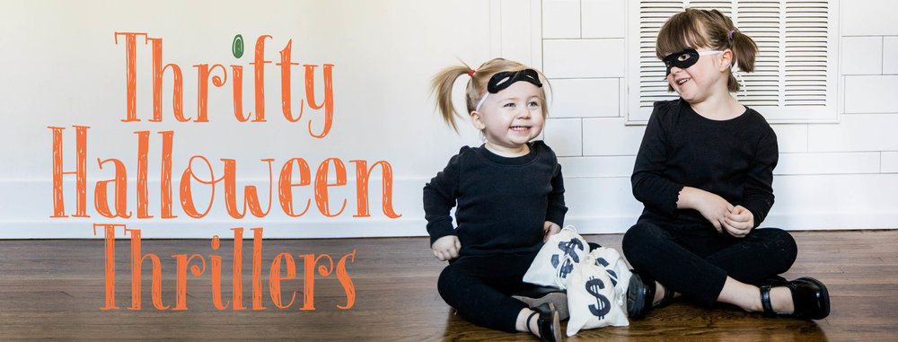 Thrift Halloween Thrillers.JPG