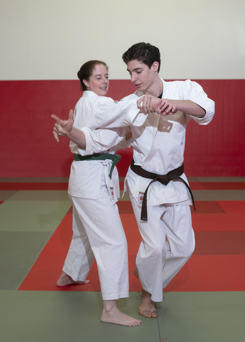 Laurie Prud'homme and Isaac Prud'homme share a love for martial arts and have practiced for 10 years.