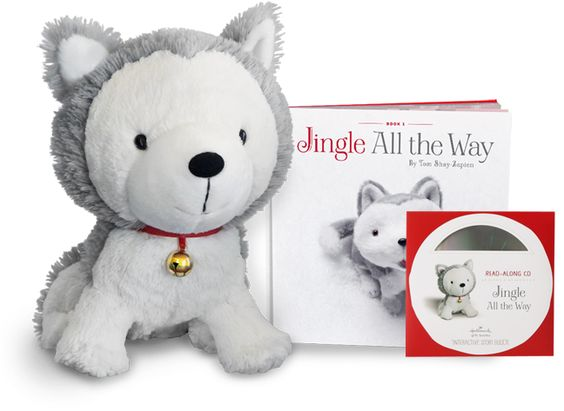 """""""Jingle"""" the interactive Husky pup and his friends have been entertaining us for many winters now."""