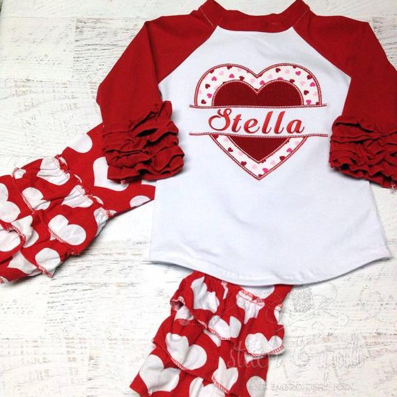 Looking your best on Valentine's Day includes a personalized outfit from  etsy.com!
