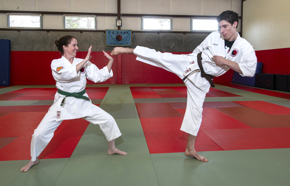 Karate Mom  In-Sparring Discipline and Confidence at Home