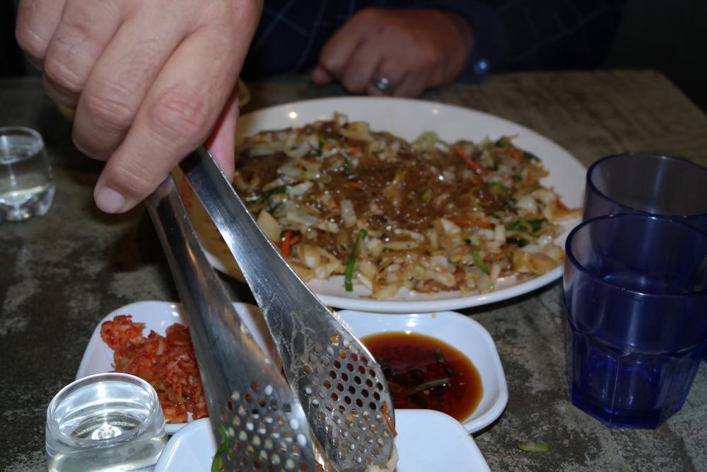 Chap chae -Potato noodle