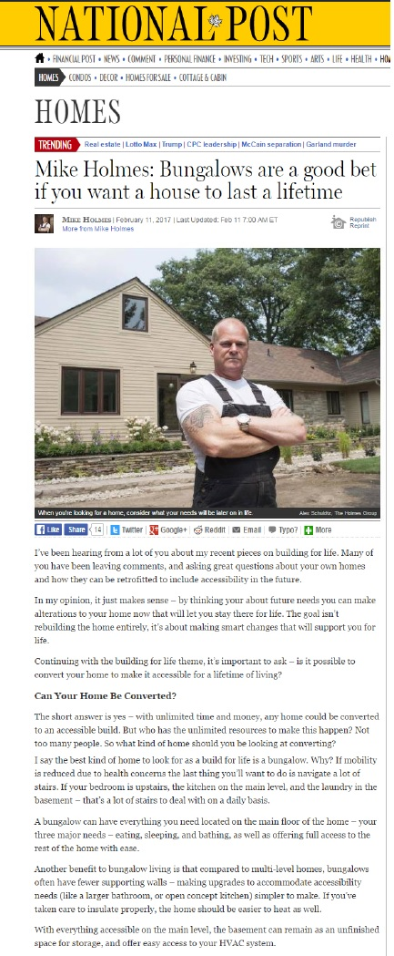 Mike Holmes National Post- Bungalows.jpg