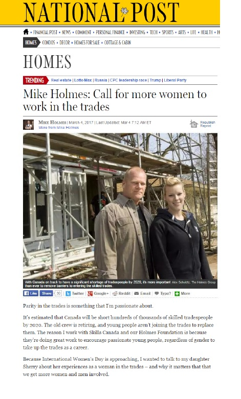 National Post-Mike and Sherry- Women in trades.jpg