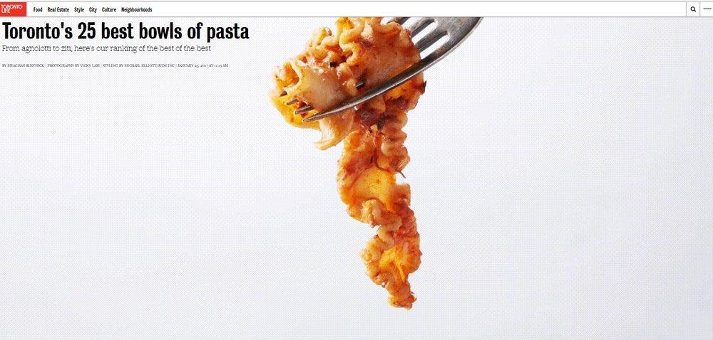 Toronto Life- Toronto's Best Pastas.jpg