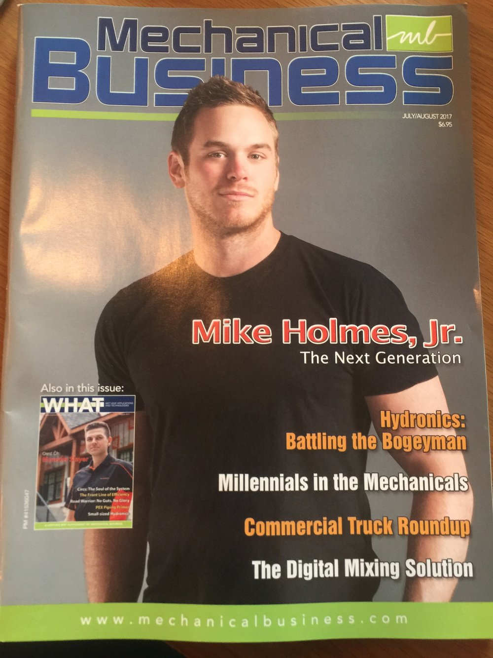 07-26-17_Mechanical Business Magazine_Mike Holmes Jr. - The Next Generation.JPG