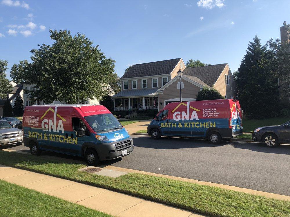 gna bath and kitchen vans