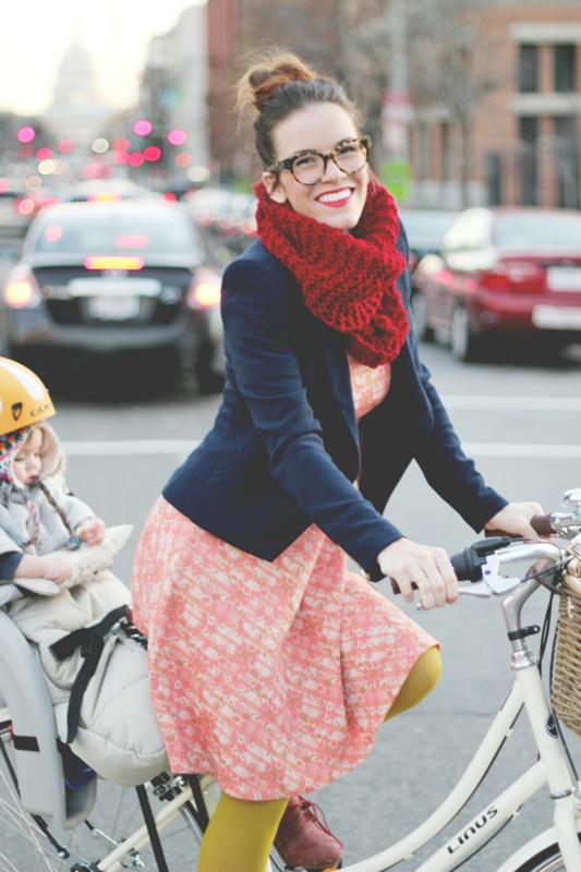 Naomi biking