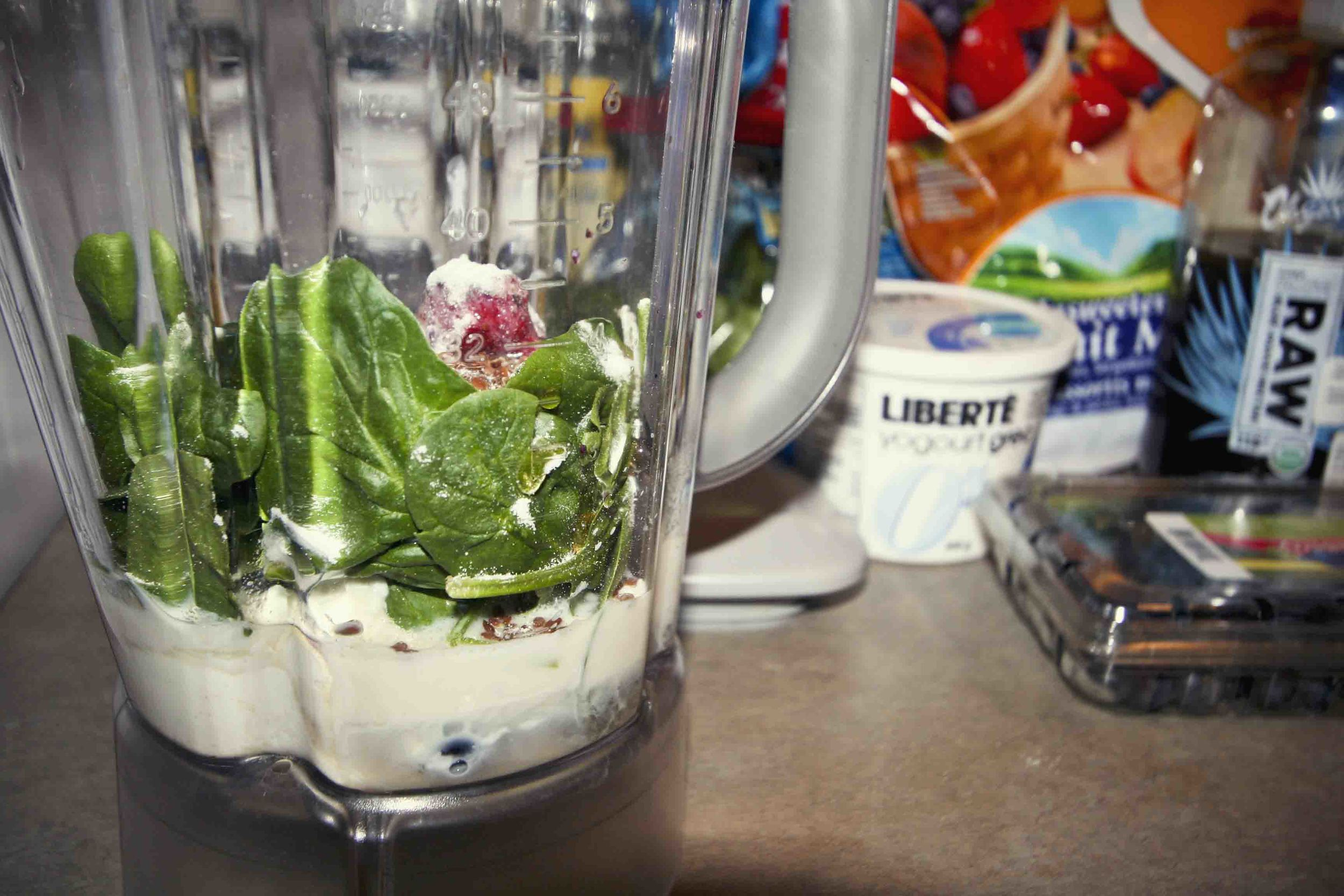 Fruit & Spinach Smoothie