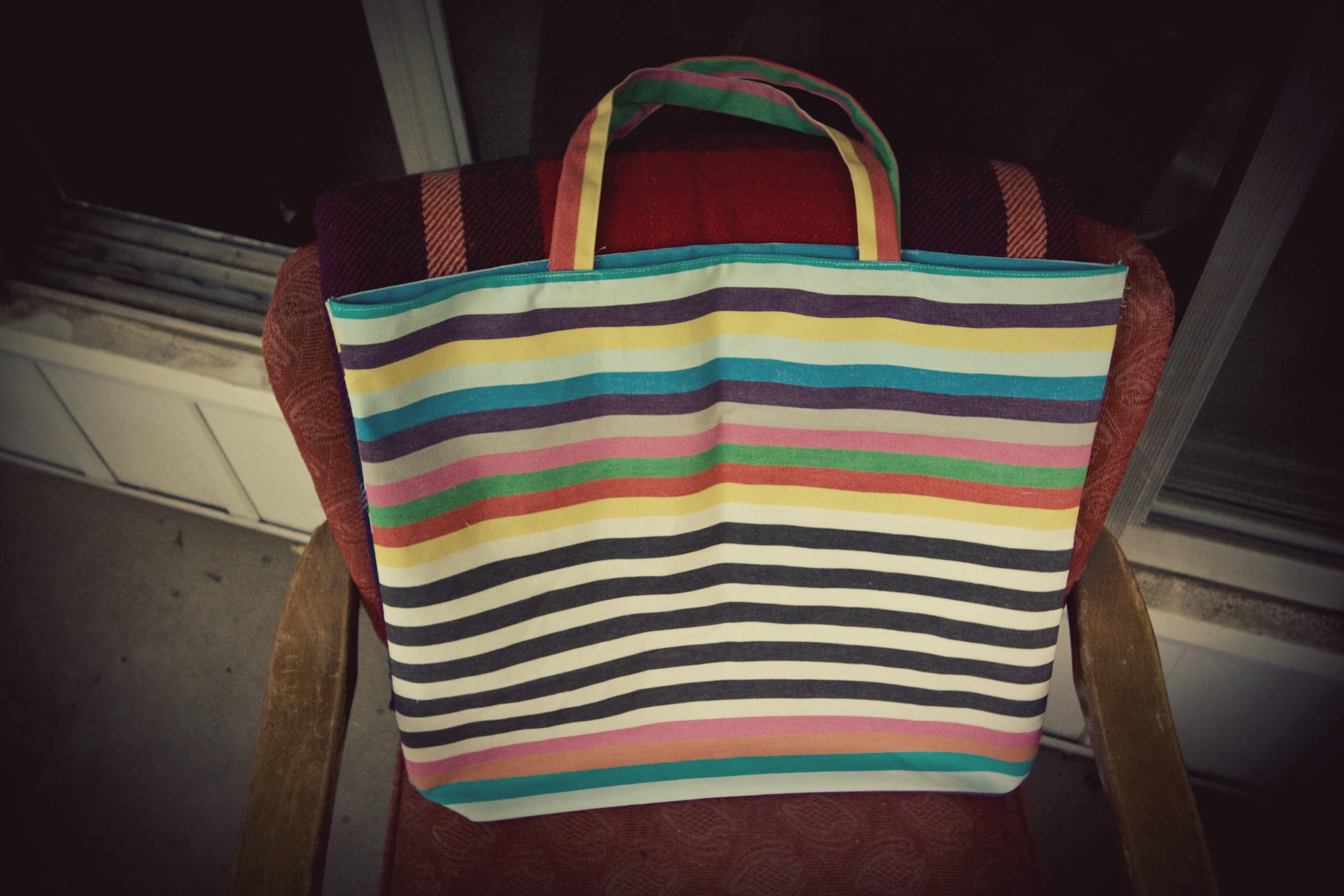 Simple Tote Bag DIY
