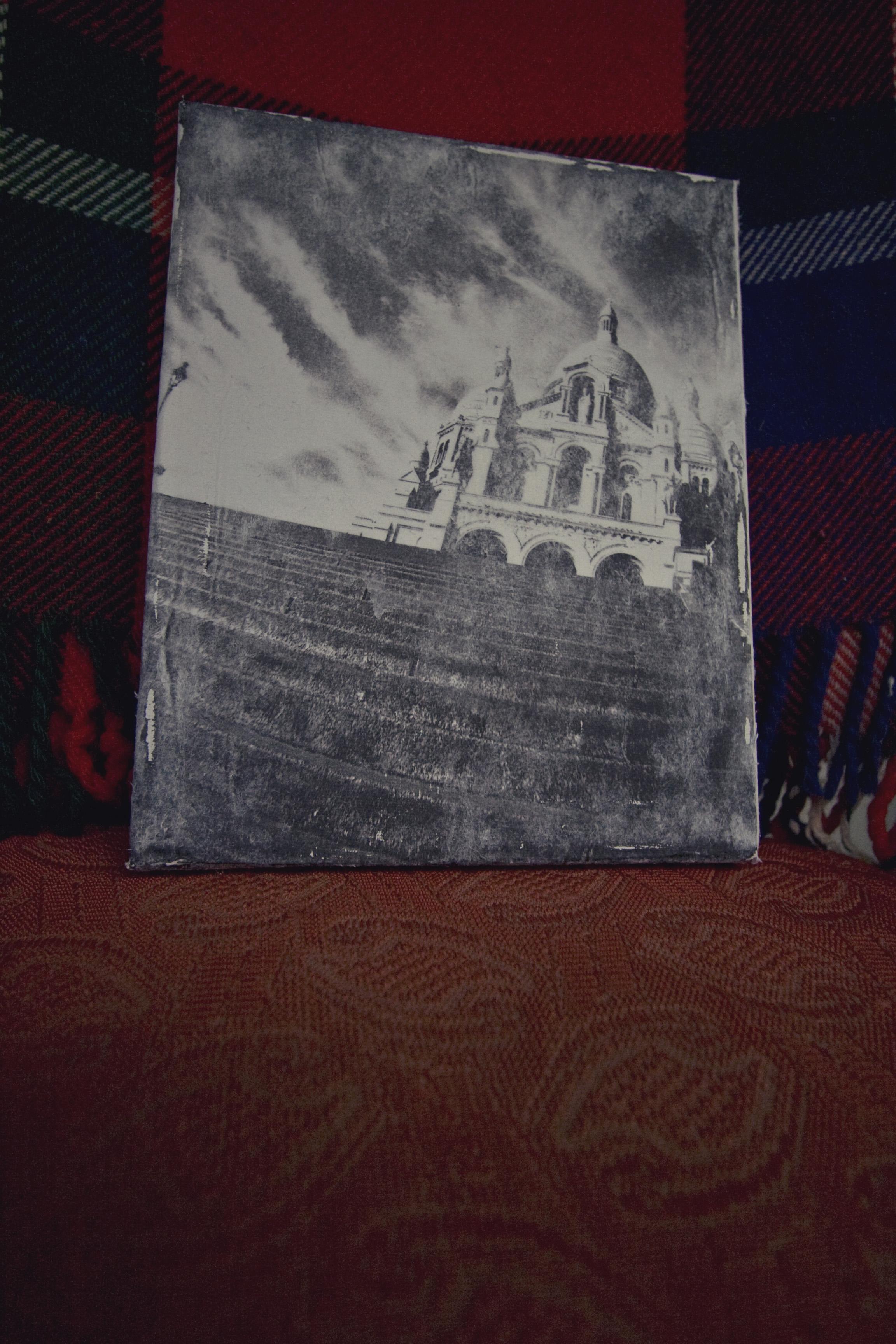 canvas photos transfer DIY