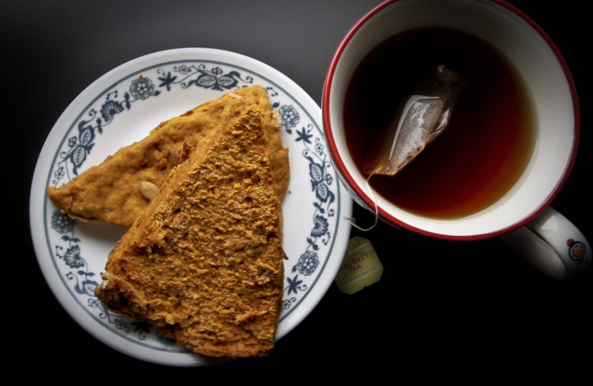 vegan pumpkin scones2