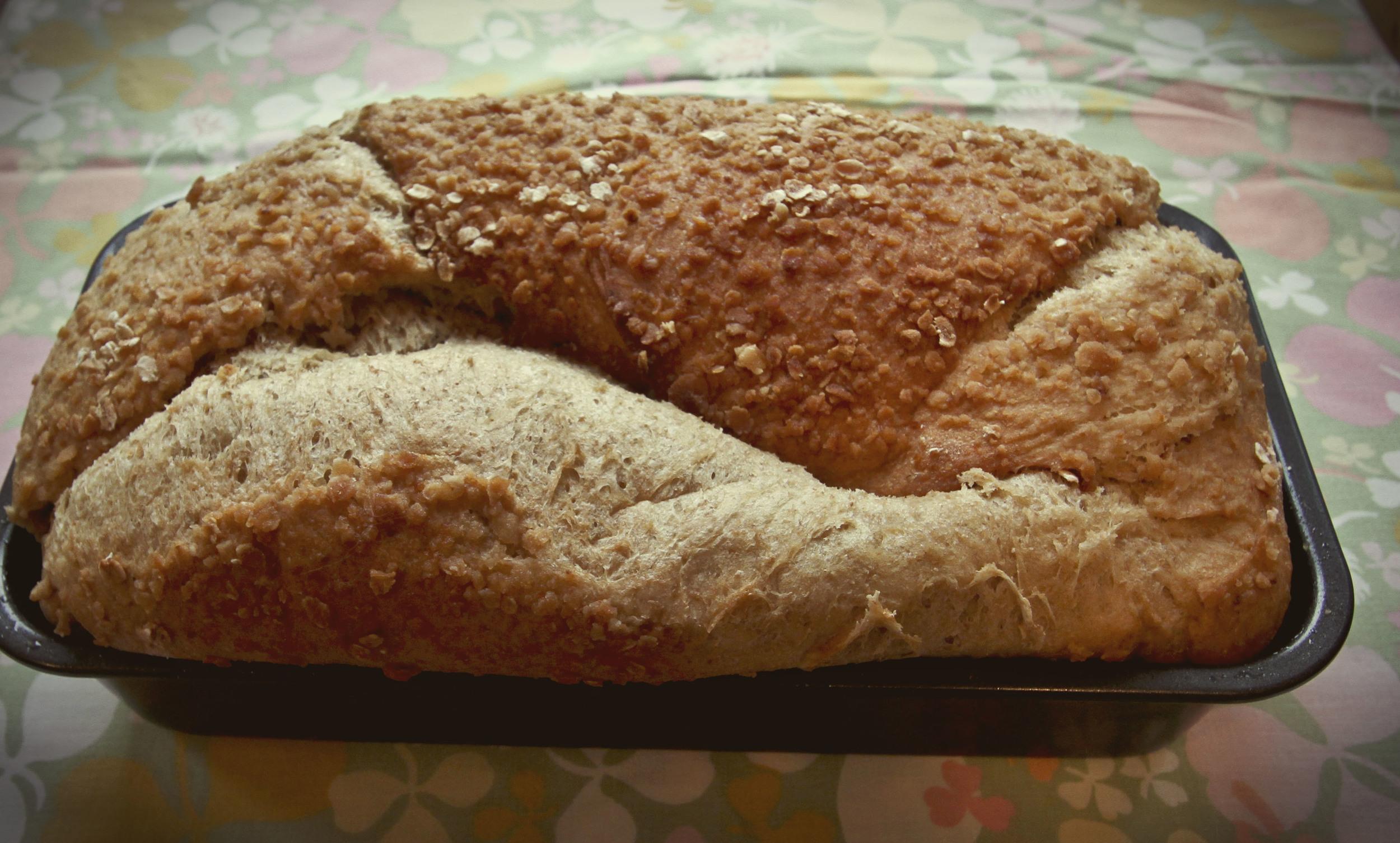 Honey Oat Bread1