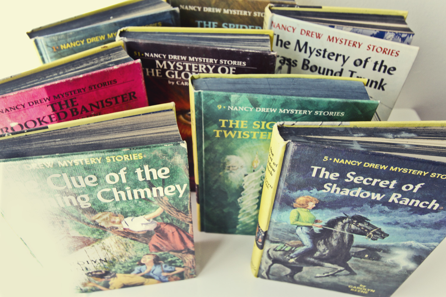 Thrift Store Finds: Nancy Drew / Thrifted