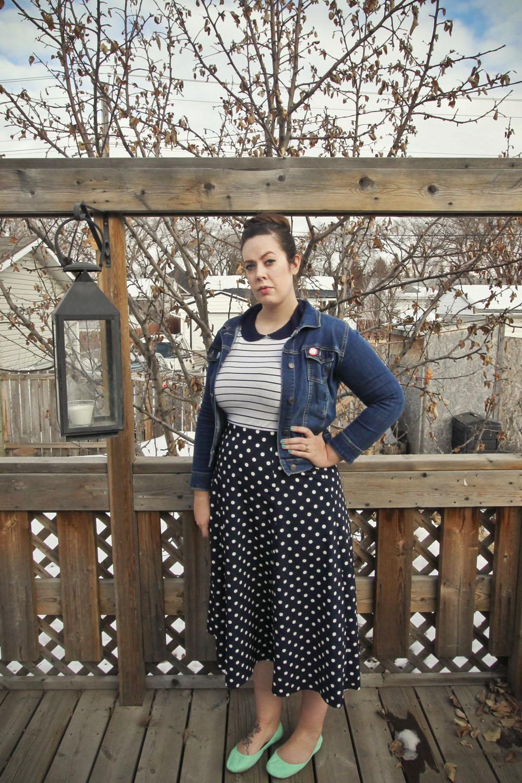 Weekly Wears: Polka Dots & Stripes
