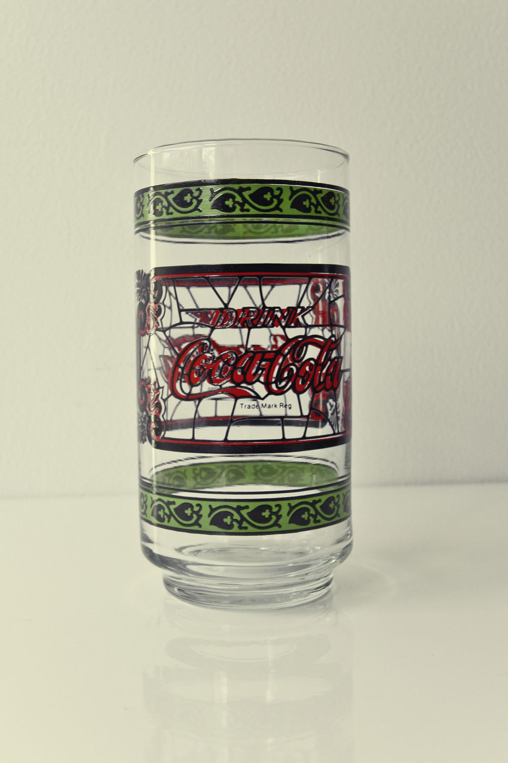 Vintage Coca Cola Glass 1980s
