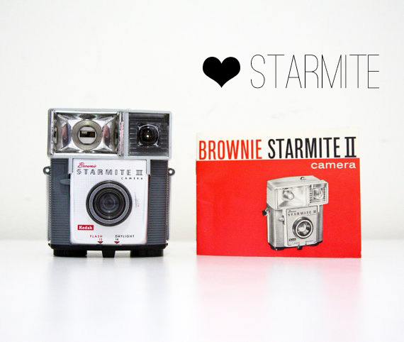 Vintage Brownie Camera Love: Starmite II