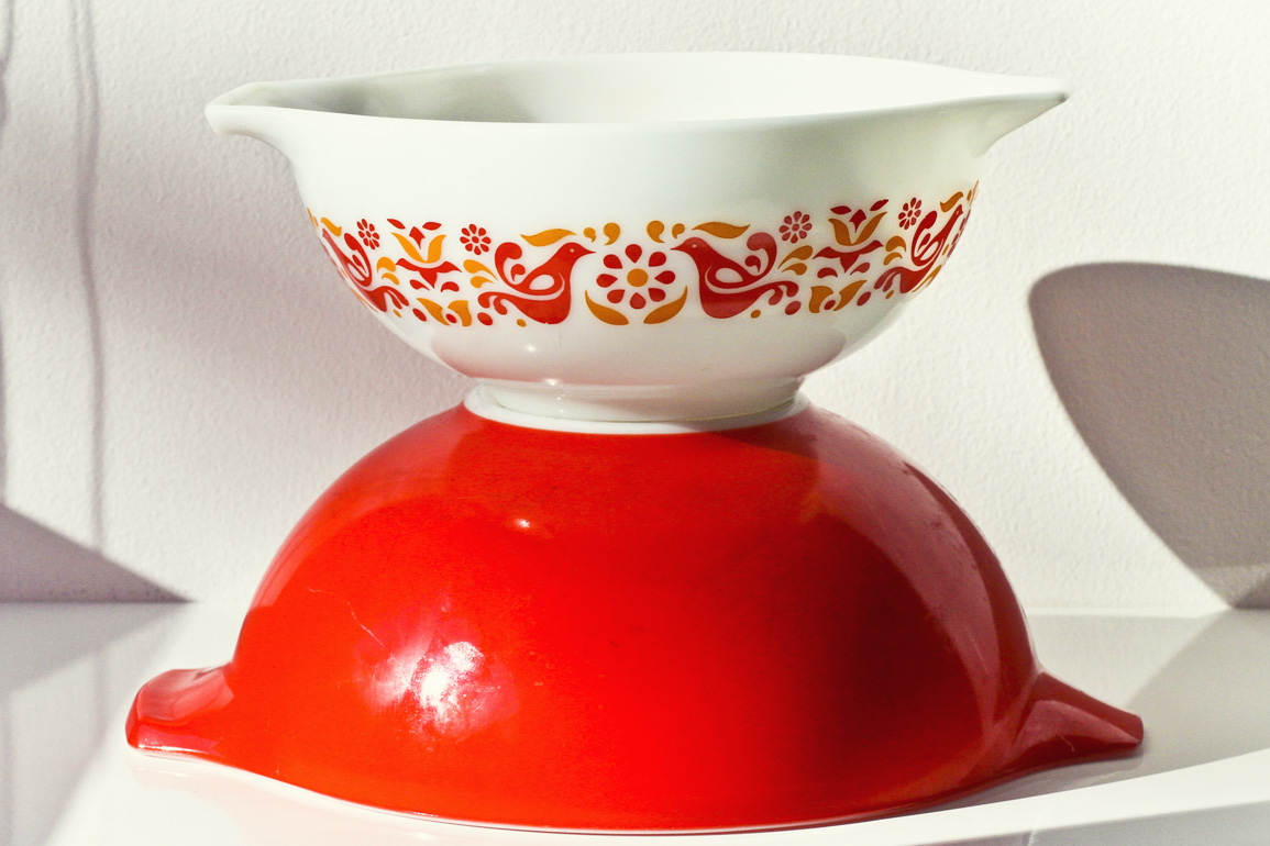 Thrift Store Finds - Pyrex Bowls// Thrifted