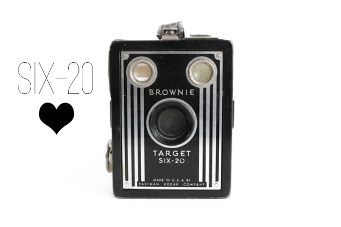 Vintage Brownie Camera Love: Six-20//Thrifted