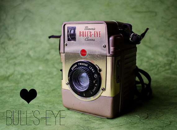 Vintage Brownie Camera Love: Bull's Eye// Thrifted