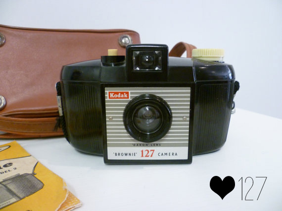 Vintage Brownie Camera Love: 127//Thrifted