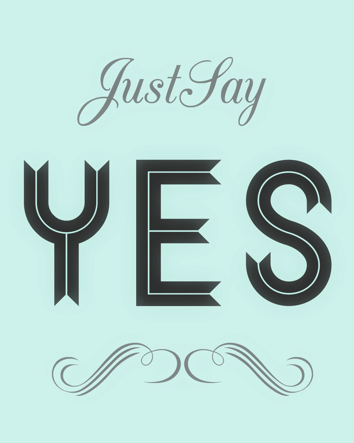 JUST|SAY|YES//thrifted