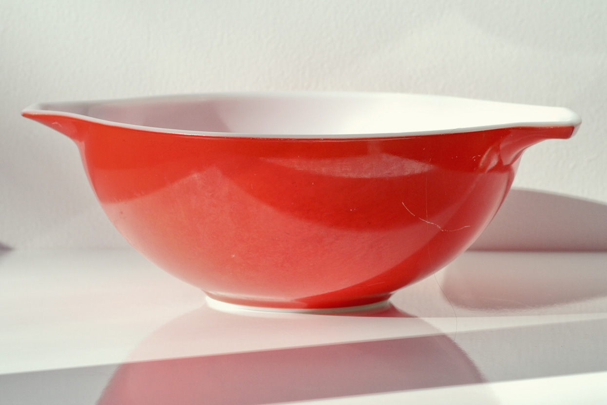 Thrift Store Finds - Red Pyrex// Thrifted