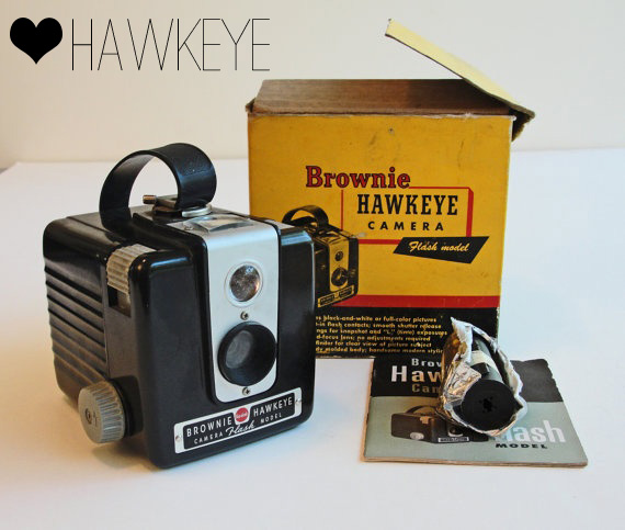 Vintage Brownie Camera Love: Hawkeye//Thrifted