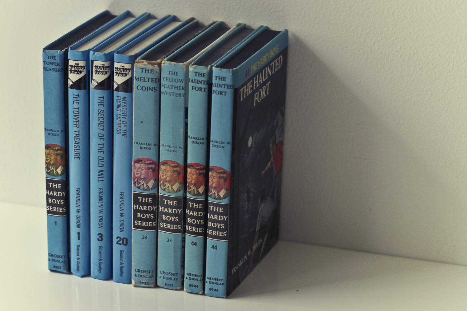 Thrift Store Finds: The Hardy Boys//Thrifted