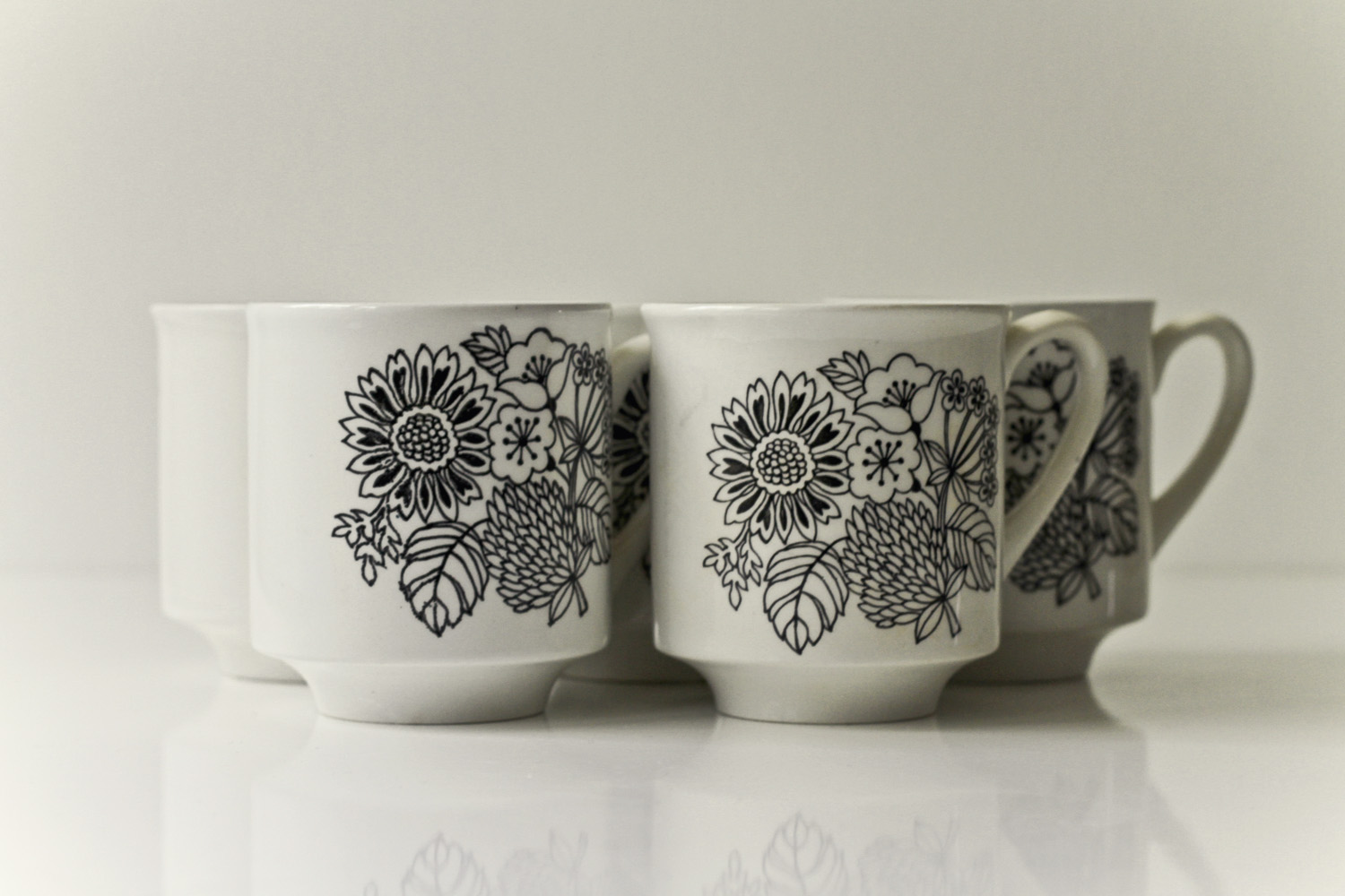 Thrift Store Finds: Mug Love// Thrifted
