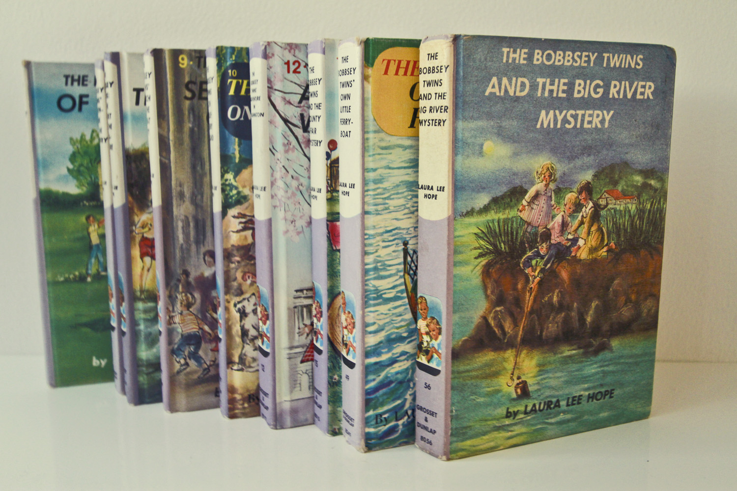 Vintage Bobbsey Twins collection//Thrift Store Finds//©Thrifted 2013