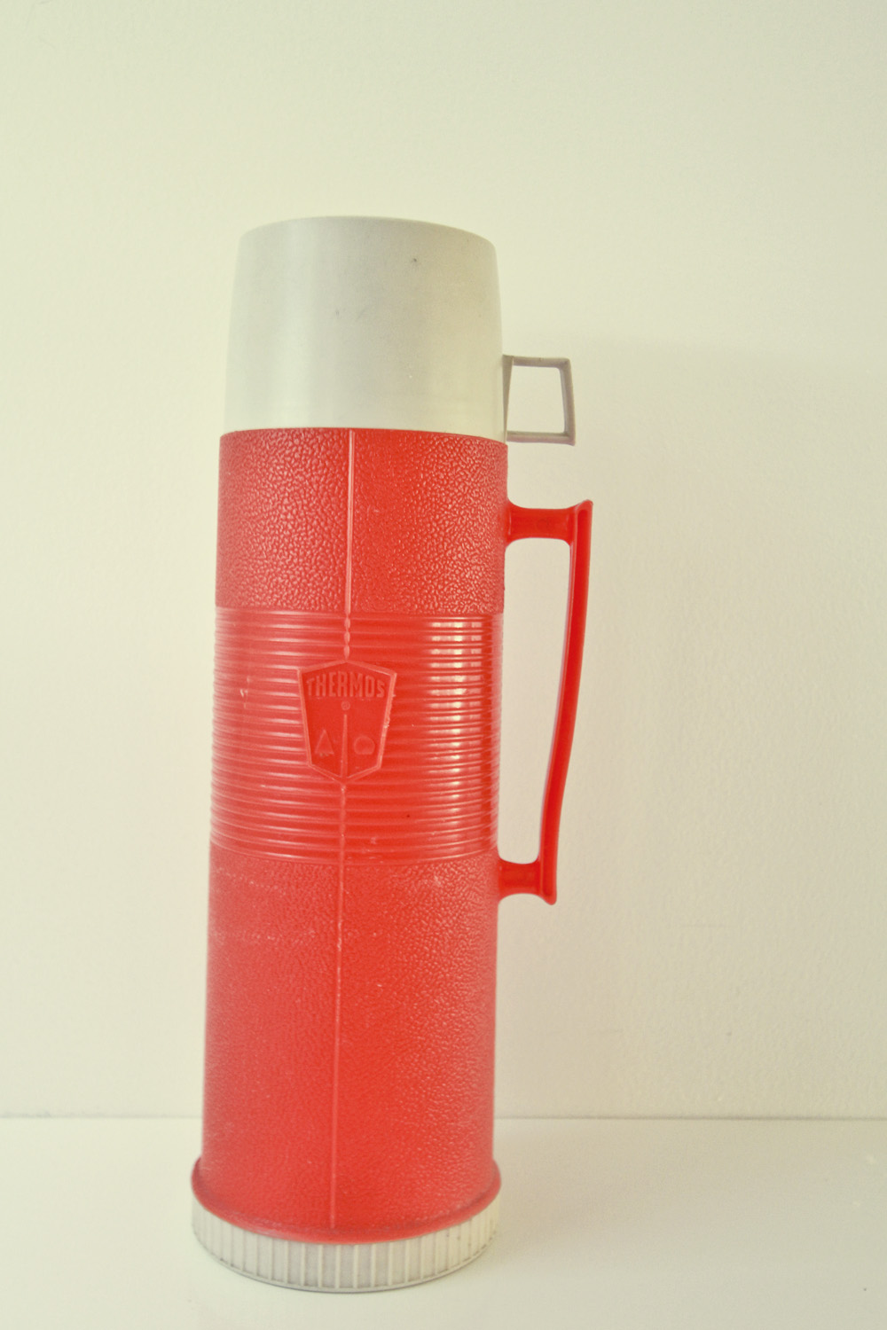 Vintage Orange Thermos//Thrift Store Finds//©Thrifted 2013