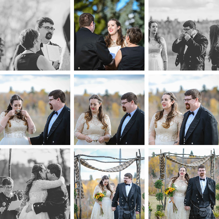 THRIFTED//Our Wedding Part One: The Ceremony// ©Breanne Marie Photography