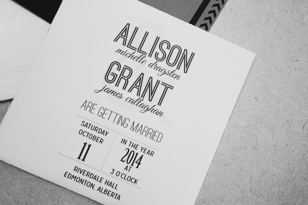 THRIFTED//Our Wedding Invitations with FREE TEMPLATES!