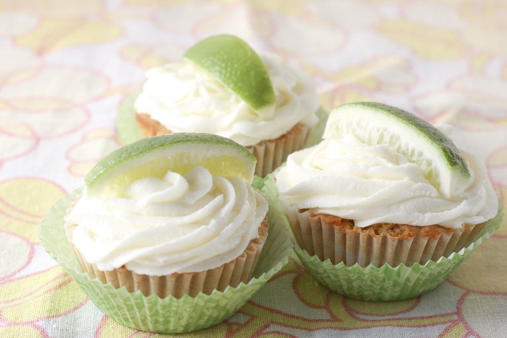 Vegan Margarita Cupcakes// ©THRIFTED 2015