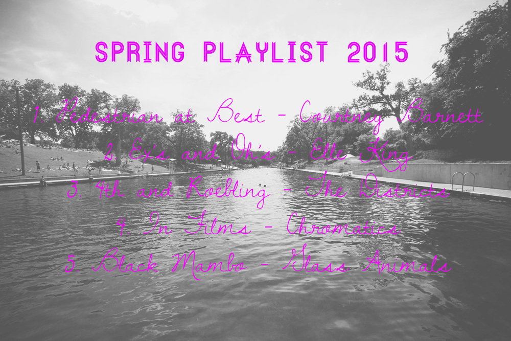 Spring Playlist 2015// Thrifted