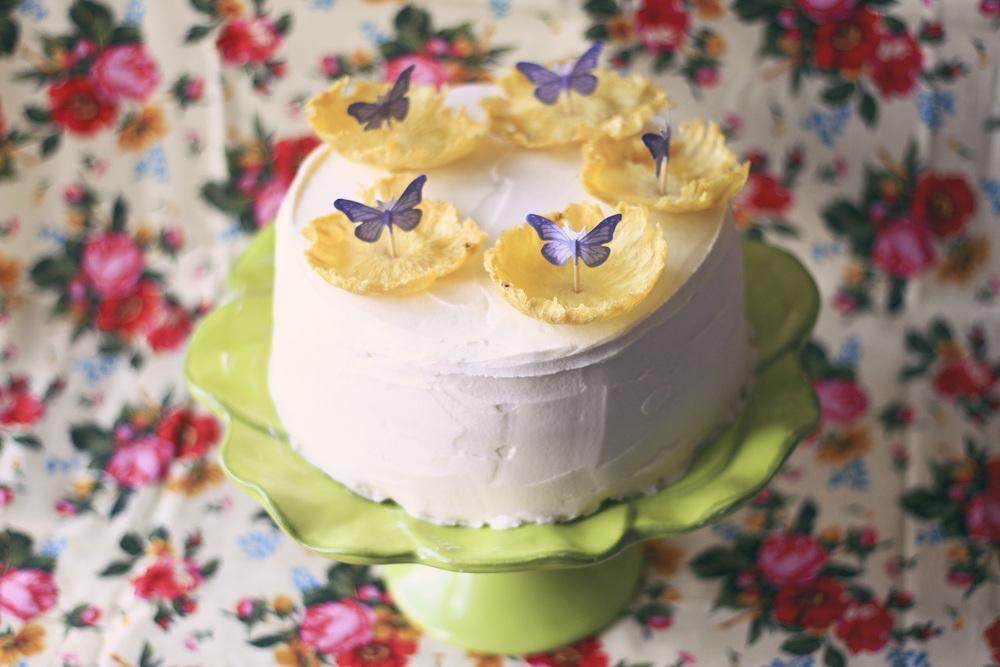 Vegan Birthday Cake// Thrifted